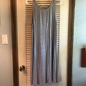 Grey Jersey Tank Dress from Old Navy